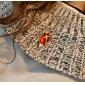 Smycken Inspirerad av Shakugan no Shana Shana Animé Cosplay Accessoarer Halsband Röd Legering / Konstädelstenar Kvinna