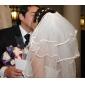 4 lagen vingertop lengte bruiloft sluier