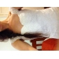 Trumpet/Mermaid Plus Sizes Wedding Dress - Ivory Court Train Square Tulle/Lace