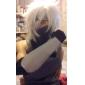 Peruci de Cosplay Naruto Hatake Kakashi Alb Short Anime Peruci de Cosplay 35 CM Fibră Rezistentă la Căldură Bărbătesc