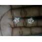 Étoiles d'or d'or de diamant Boucles d'oreilles Miss U Femmes