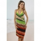 Plaja de moda rochie de înot multi-color femei (lungime: 150 cm, latime: 105cm)