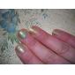 1st Laser Glitter Akryl Pulver för 3D negl konst (Assorted färg, No.1-8)