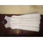 Homecoming Homecoming Dress - Fuchsia Plus Sizes A-line/Princess Jewel Knee-length Chiffon