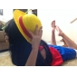 Luffe sombrero de paja cosplay