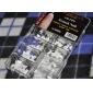 140pcs professionell franska falska akryl nail art spetsar