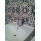 Décoration artistique/Rétro Set de centre Mitigeur un trou in Peintures Robinet lavabo