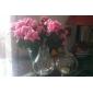 tafel centerpieces appel gevormde glazen vaas tafel deocrations