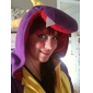 Kigurumi Pyjamas Dinosaurie Trikå/Onesie Festival/högtid Pyjamas med djur halloween Purpur Lappverk Korallfleece Kigurumi För Unisex