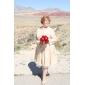 TALIYAH - Kleid für die Braut aus Satin