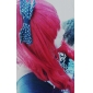 Perruques de Cosplay Cosplay Tomochika Shibuya Rouge Long Anime/Jeux Vidéo Perruques de Cosplay 80 CM Fibre résistante à la chaleur