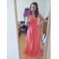 VARYA - Vestido de Dama de honor de Gasa