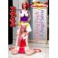 Perruques de Cosplay Naruto Tayoya Rose Long Anime Perruques de Cosplay 80 CM Fibre résistante à la chaleur Féminin