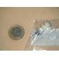 1W G4 Ampoules Maïs LED T 24 SMD 3528 80 lm Blanc Chaud AC 12 V