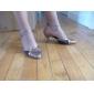 personalizate două ton sclipici spumant cu imitație de piele de dans pantofi (mai multe culori)