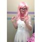 Peach Pink 70cm Sweet Lolita lockig peruk