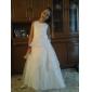 MACHA - Kleid für Blumenmädchen aus Organza und Satin