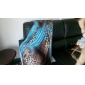 Femeile frumos Maxi Dress Etaj Lungime Leopard Print