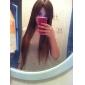 capless extra long de qualité supérieure grade synthétique dorée perruque cheveux raides (0463-lpp676)