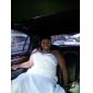Vestido de Boda - Blanco Corte Sirena Capilla - Sweetheart Satén Tallas Grandes