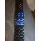 cobra ediție unisex albastru sport dus ceas de mână fără chip (negru)