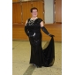 Homecoming Formal Evening/Military Ball Dress - Black Plus Sizes Trumpet/Mermaid Bateau Sweep/Brush Train Sequined