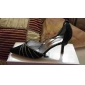 Top Quality Satin Upper Mid Heel Closed-toes With Rhinestone Wedding Bridal Shoes