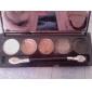 5 Ögonskuggspalett Skimmrig Ögonskugga palett Puder Normal Vardagsmakeup / Sotig makeup
