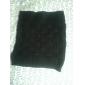 Quadrato sulla maglia pacchetto Hip Gonna nera (Vita: 58-79cm Anca :90-104 Lunghezza: 56cm)