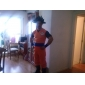 Costume de Cosplay Dragon Ball Son Goku Kon Fu