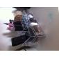 Sminkförvaring Makeup-låda / Sminkförvaring Plast / Akrylfiber Enfärgat 23.0 x 9.0 x 11.0 Bisque