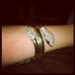 Unisex Cuff Bracelet Alloy Rhinestone