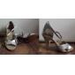 femmes personnalisées shirt paillettes scintillantes latin / chaussures de danse de salon (plus de couleurs)