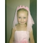 Flower Girl's Satin / Lace Headpiece-Wedding / Special Occasion Birdcage Veils