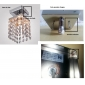 Max 25W Flush Mount ,  Modern/Contemporary Chrome Feature for Crystal / Mini Style Metal Living Room / Bedroom / Entry