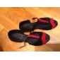 Chaussures de danseNon Personnalisables-Talon Bottier-Satin-Latine Salon