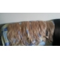 clip dans les extensions de cheveux synthétiques droites avec 5 clips - 6 couleurs disponibles