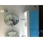 Contemporain Set de centre Pivotant with  Valve en céramique Mitigeur un trou for  Chrome , Robinet lavabo