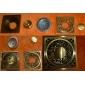 Accessoire de salle Laiton antique Laiton Finition plancher de drain-LK-1045
