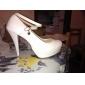 scarpe piattaforma di scarpe in pelle di brevetto tacchi a spillo tacco partito / sera / cerimonia nuziale delle donne più colori disponibili