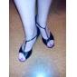 satin övre dansskor balsal latinska skor för kvinnor mer färger