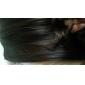 Sintéticos de alta qualidade 45 centímetros-Clip na extensão do cabelo ondulado de seda 6 cores a escolher