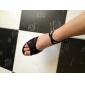 Chaussures de danse(Noir) -Personnalisables-Talon Personnalisé-Satin-Latine Salon