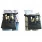 Pro haute qualité 22 PC Brosses Capacité brosse de maquillage noir de poche de taille