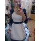 Rochie Mini de Damă În Culoare Contrastantă Cu Curea În Talie