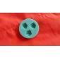 form silikonform kaka Utsmyckning bakning verktyg, slumpmässig färg ros \\\\\