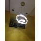 Lustre Lampe suspendue ,  Contemporain Plaqué Fonctionnalité for Cristal LED Ampoule incluse MétalSalle de séjour Chambre à coucher Salle