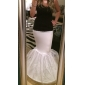 Nylon Mermaid and Trumpet Gown 1 Tier Floor-length Slip Style/ Wedding Petticoats