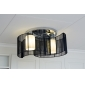 Ceiling Light Modern Design Bedroom 2 Lights Black