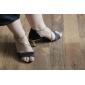 Non Customizable Women's Dance Shoes Latin/Ballroom Satin Stiletto Heel Multi-color